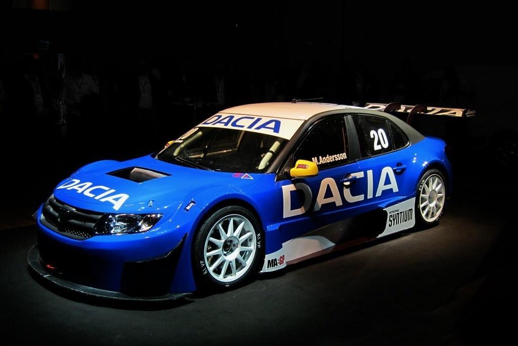 Dacia Logan STCC 1 at Dacia Logan STCC Race Car Caught in Action   Video