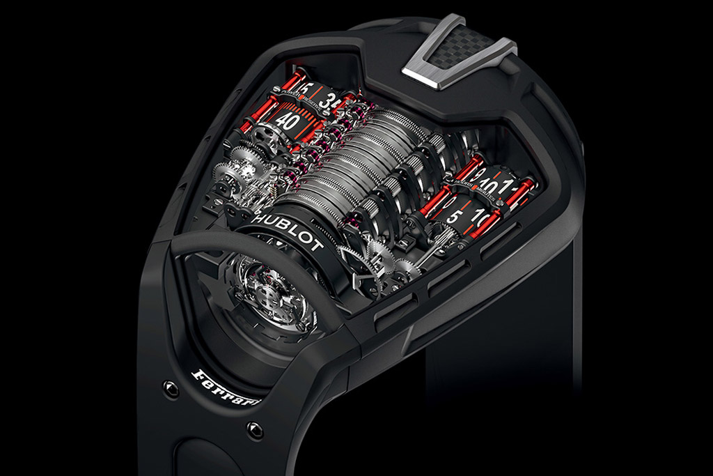 hublot mp 05 laferrari hyper watch revealed. Black Bedroom Furniture Sets. Home Design Ideas