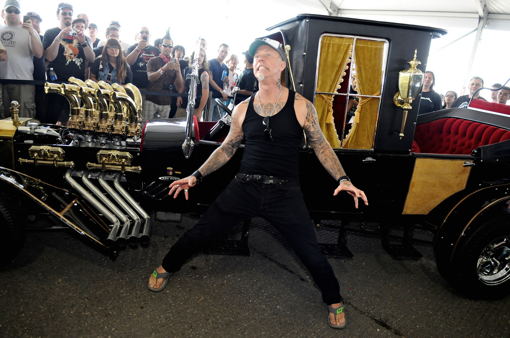 Metallica's James Hetfield on Cars and Art - Video