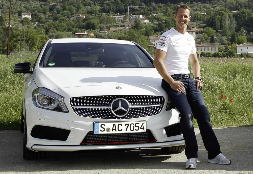 michael schumacher becomes a mercedes benz ambassador