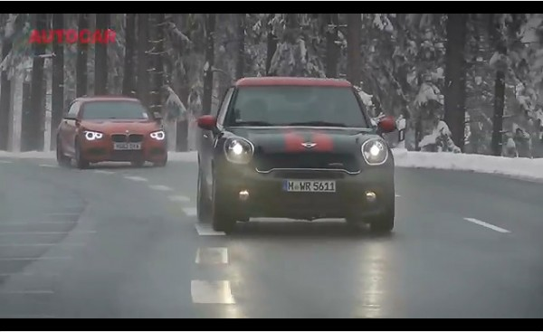 Mini Paceman JCW vs BMW M135i 600x367 Autocar Compares MINI Paceman JCW to BMW M135i