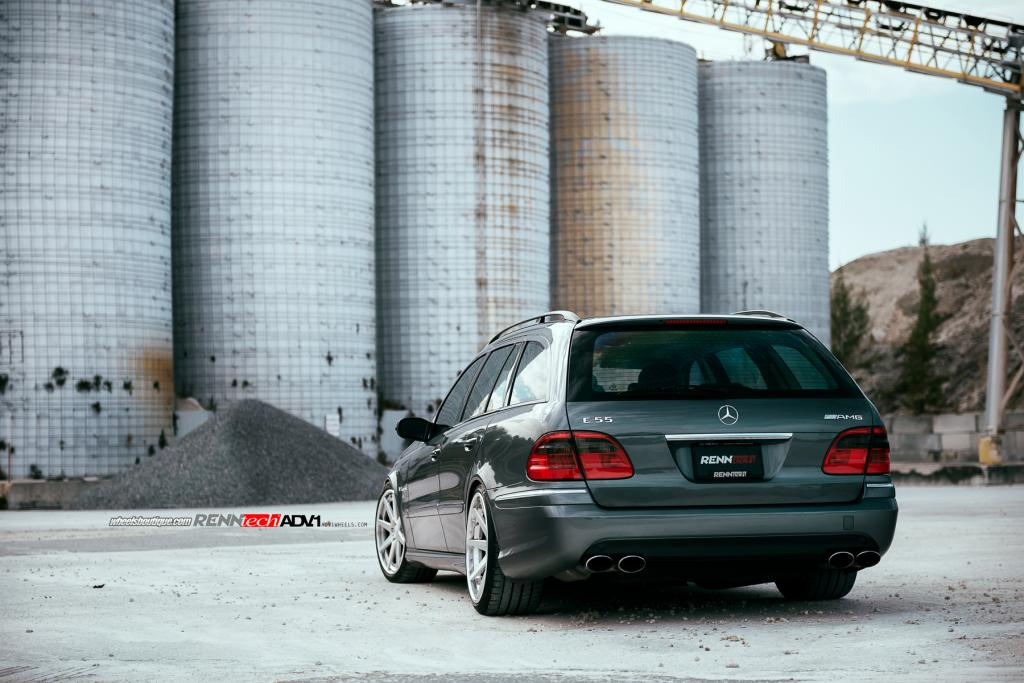 Superb Wagon: RENNtech E55 AMG on ADV1 Wheels