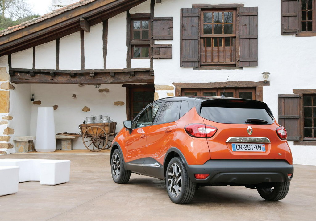 Renault Captur Colours Kit on The Renault Capture