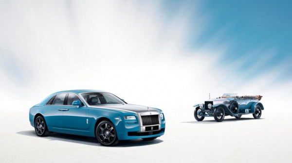 Rolls Royce Ghost Alpine Trial Centenary Collection 1 600x336 at Official: Rolls Royce Ghost Alpine Trial Centenary Collection