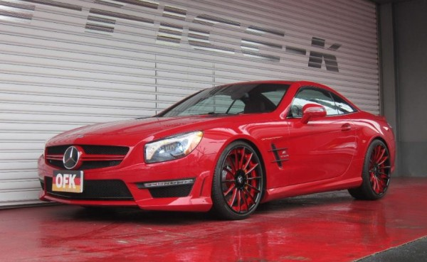 SL63 AMG on Forgiato Wheels 1 600x369 at Gallery: Mercedes SL63 AMG on Forgiato Wheels
