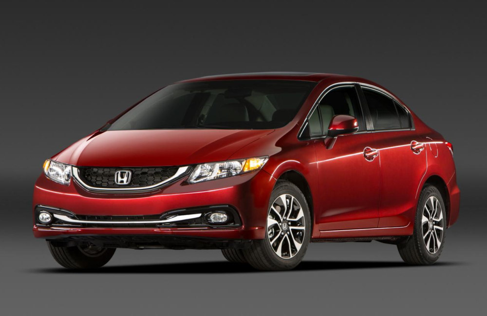 2013 honda civic gets top safety ratings from iihs and nhtsa for Honda civic safety