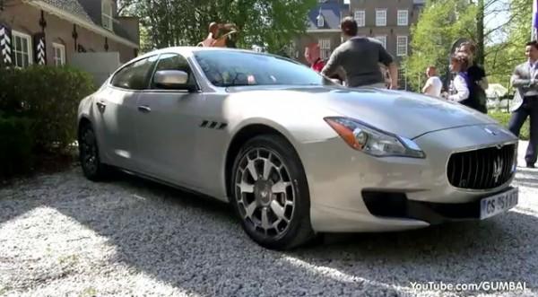 2014 Maserati Quattroporte V8 600x331 at 2014 Maserati Quattroporte V8 Sounds Really Dirty!   Video