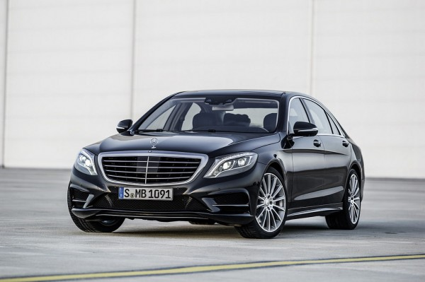2014 Mercedes S-Class: First Official Pictures