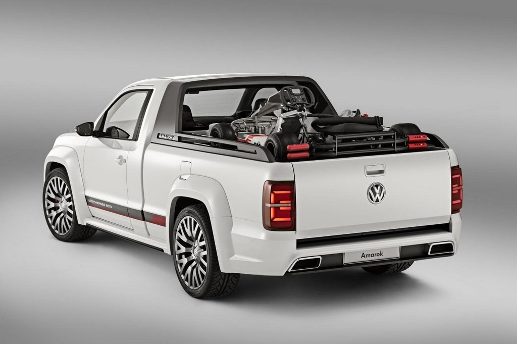 vw amarok power pickup unveiled at w rthersee. Black Bedroom Furniture Sets. Home Design Ideas