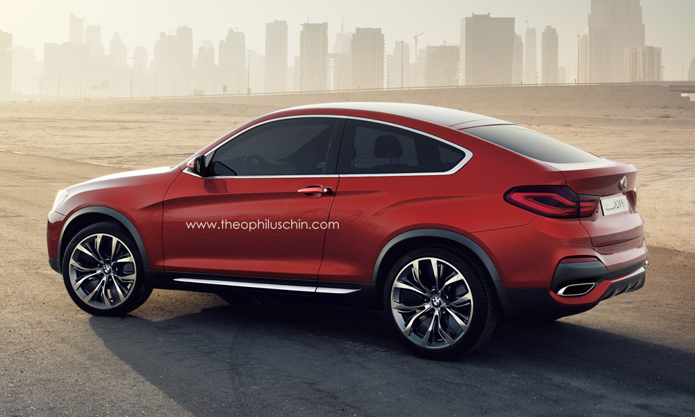 Bmw X4 Concept Rendered As A Coupe