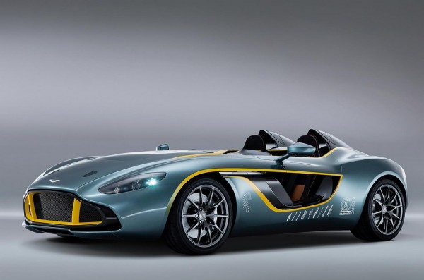 CC100 Speedster: Aston Martin's Anniversary Gift to Itself
