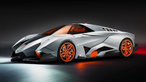 Lamborghini Egoista One-Off Celebrates Brand's 50th Anniversary