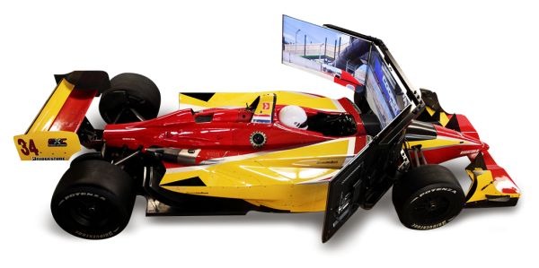 Lola Champ Car Simulator 600x299 at Racing Simulator Based on Lola Champ Car Is Sick!   Videos