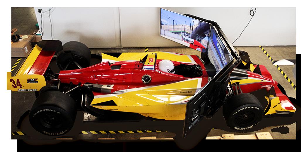 Racing Simulator Based on Lola Champ Car Is Sick! - Videos
