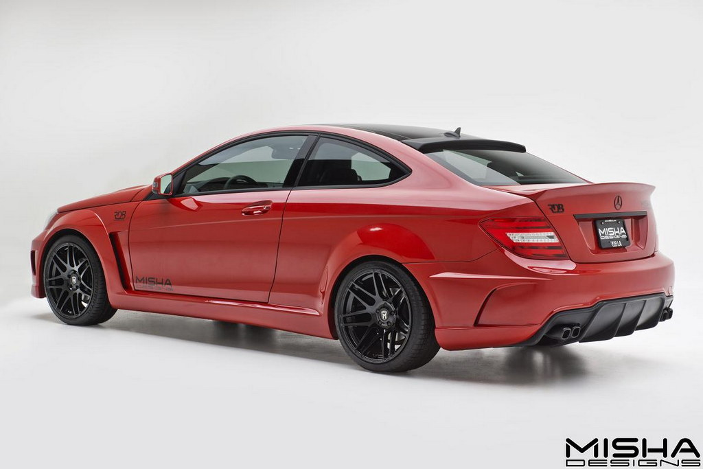 Mercedes C Class Wide Body By Misha Designs