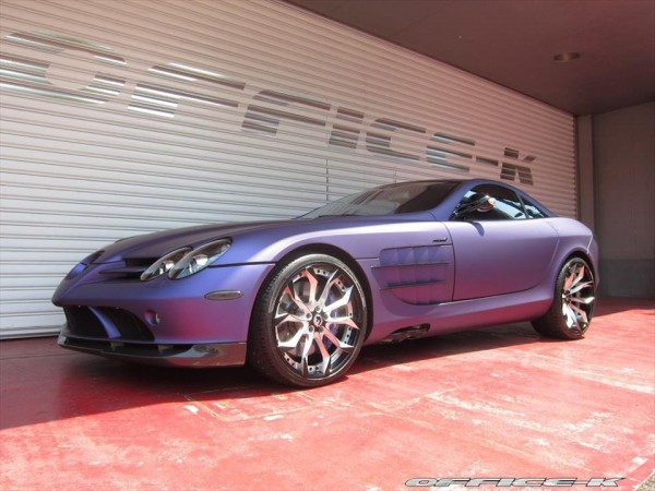 Mercedes SLR by Office K 8 600x450 at Purple Wrapped Mercedes SLR by Office K   Gallery