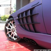 Mercedes SLR by Office K 9 175x175 at Purple Wrapped Mercedes SLR by Office K   Gallery
