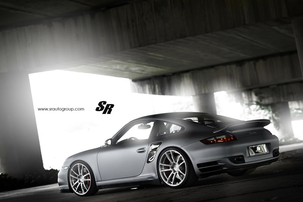Tricked Out Porsche 997 Turbo On Pur Wheels By Sr Auto