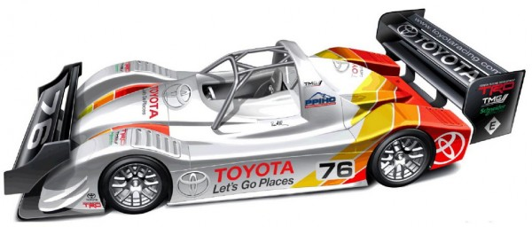 TMG EV P002 600x256 at Upgraded Toyota TMG EV P002 Ready for 2013 Pikes Peak
