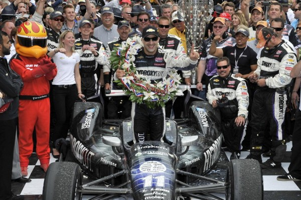Tony Kanaan indy 500 win 1 600x399 at Chevy V6 Engine Drives Tony Kanaan To First Indy 500 Victory