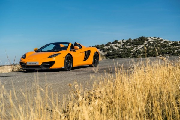 mclaren50 12c 01 600x400 at 50 Years of McLaren Celebrated with Special Edition 12C Models