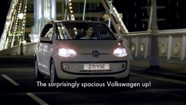vw up commercial 600x339 at Volkswagen up! Tall Girl Commercial   Video