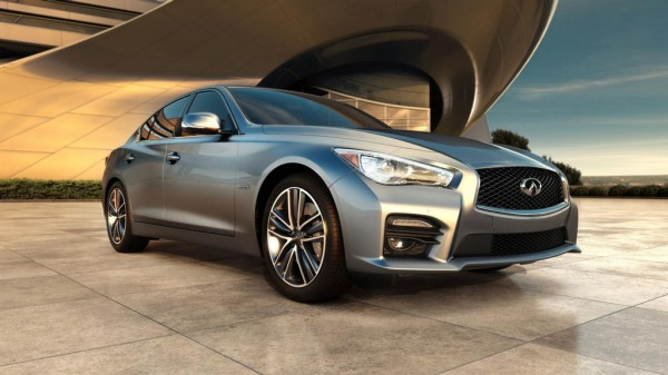 2014 Infiniti Q50 1 600x337 at 2014 Infiniti Q50 Official Pricing Announced
