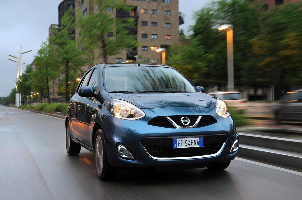 2014 nissan micra unveiled. Black Bedroom Furniture Sets. Home Design Ideas