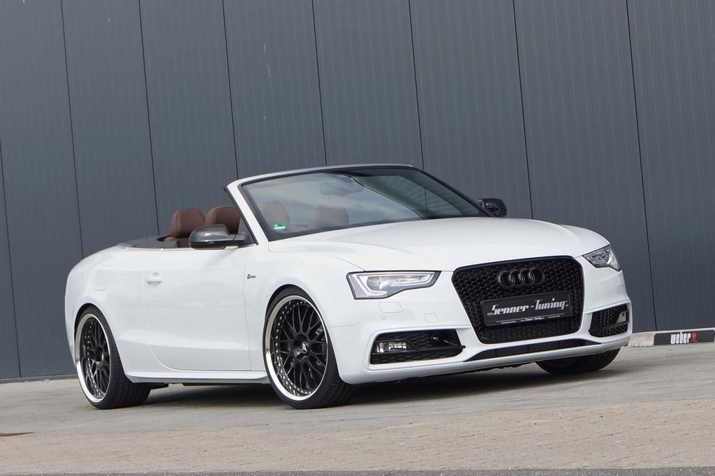 audi s5 convertible by senner tuning. Black Bedroom Furniture Sets. Home Design Ideas