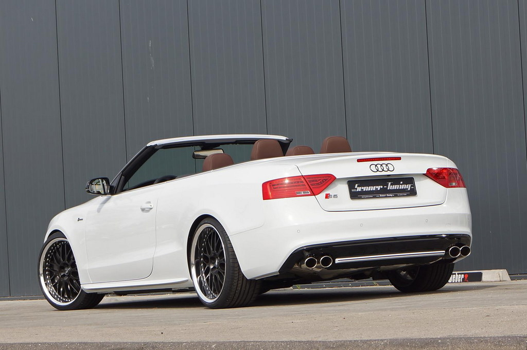 audi s5 convertible by senner tuning