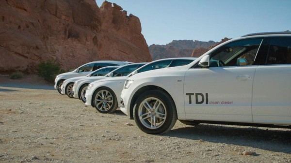 Audi TDI Clean Diesel 1 600x337 at Audi Launches New TDI Clean Diesel Range In America