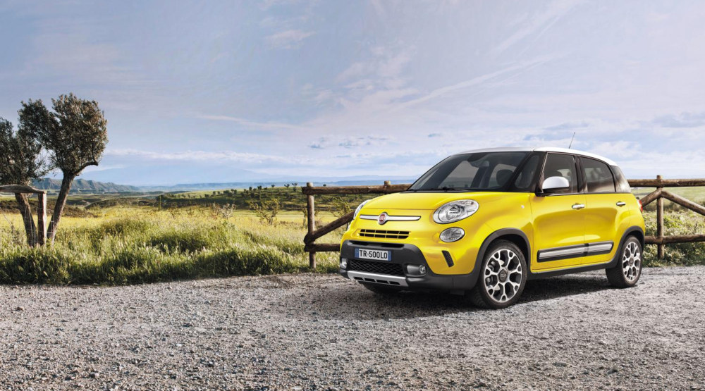 fiat 500l trekking prices and specs uk. Black Bedroom Furniture Sets. Home Design Ideas