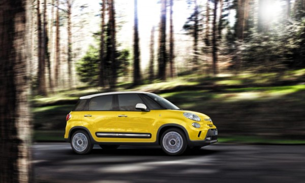 Fiat 500L Trekking1 600x361 at Fiat 500L Trekking Prices and Specs (UK)