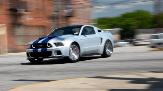 Ford Mustang Need for Speed movie at Ford Mustang Gets Lead Role In Need For Speed