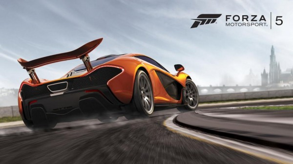 Forza Motorsport McLaren P1 1 600x337 at Forza Motorsport Offers A Ride In McLaren P1 at Goodwood