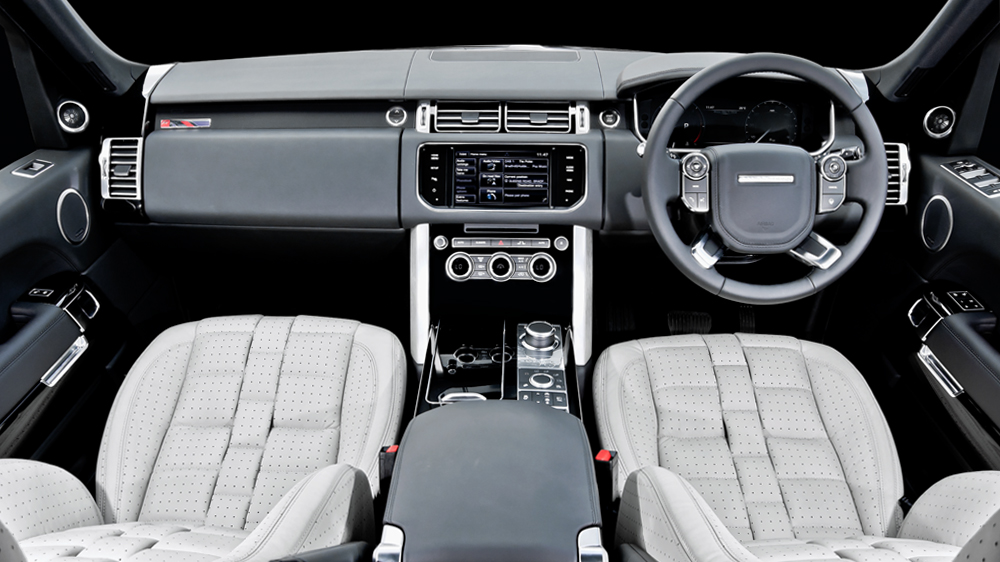 Kahn S New Interior Package For 2013 Range Rover Vogue