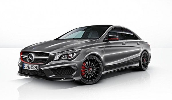 Mercedes cla 45 amg edition 1 details for Mercedes benz cla 350