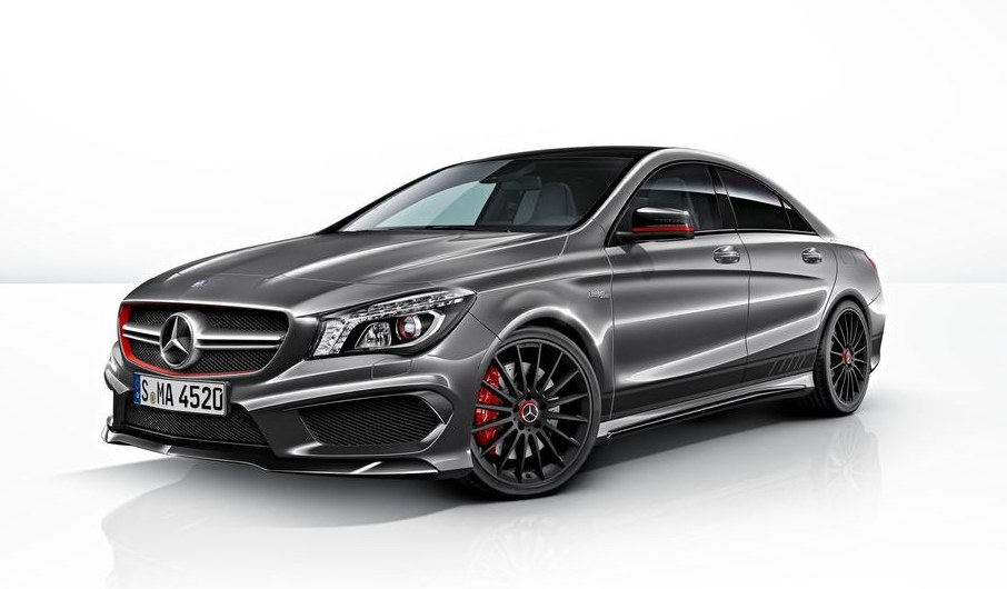 mercedes cla 45 amg edition 1 details. Black Bedroom Furniture Sets. Home Design Ideas