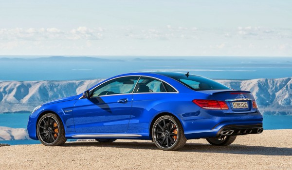 Mercedes E63 AMG Coupe Render 600x351 at Rendering: Mercedes E63 AMG Coupe
