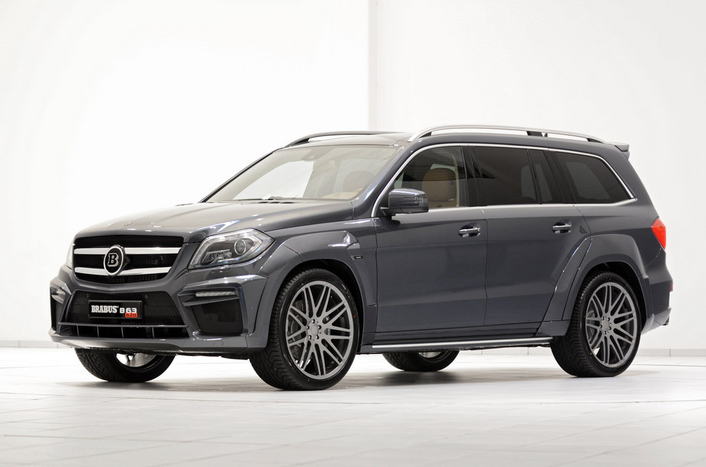 Mercedes gl63 amg widestar by brabus 620 horsepower for Mercedes benz gl63