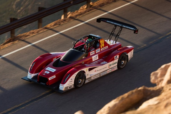 MiEV Evolution II 2 600x400 at Mitsubishi MiEV Evolution II Ready For Pikes Peak Challenge