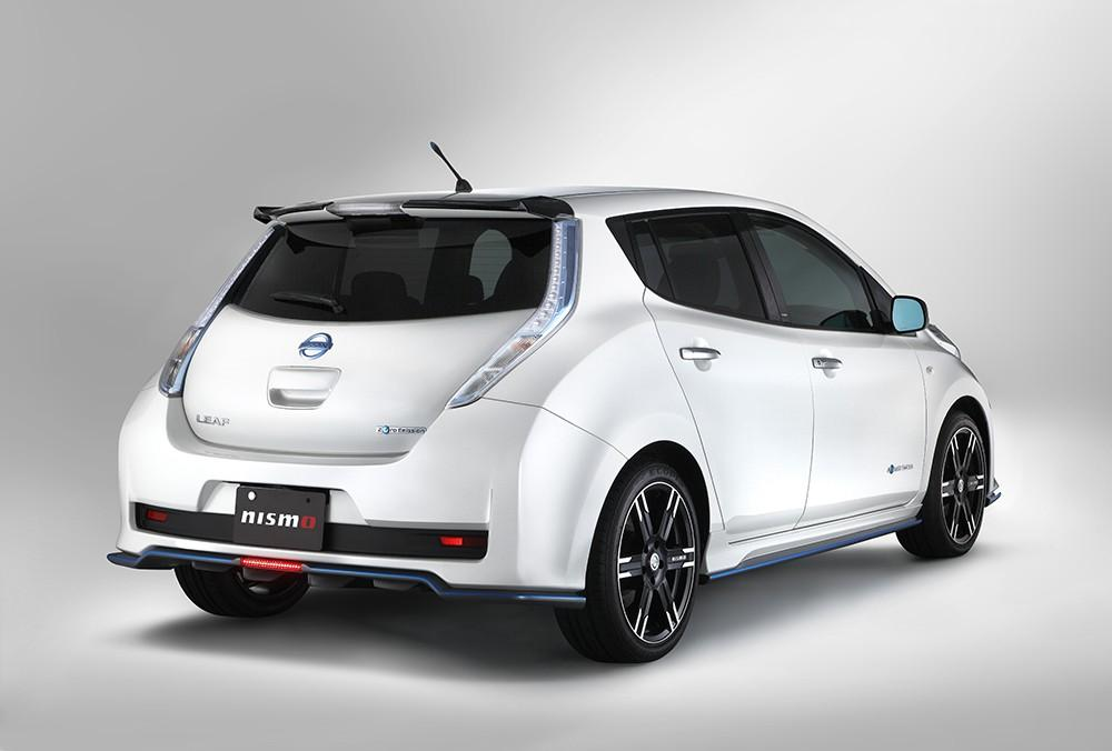 Nismo Tuned Nissan Leaf Debuts In Japan