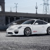 Porsche 997 Body Kit Misha Designs GTM2 white 911 Carrera 34 175x175 at Porsche 997 GTM2 Styling Kit by Misha Designs
