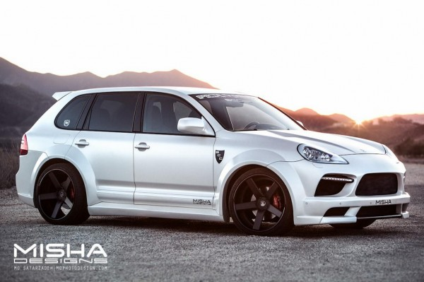 Porsche Cayenne Body Kit Wide Misha Designs white GTS 22 600x399 at Misha Designs Body Kit For Porsche Cayenne 955 and 957