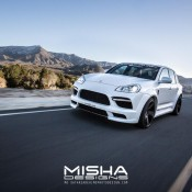 Porsche Cayenne Body Kit Wide Misha Designs white GTS 25 175x175 at Misha Designs Body Kit For Porsche Cayenne 955 and 957