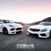 Porsche Cayenne Body Kit Wide Misha Designs white GTS 38 175x175 at Misha Designs Body Kit For Porsche Cayenne 955 and 957