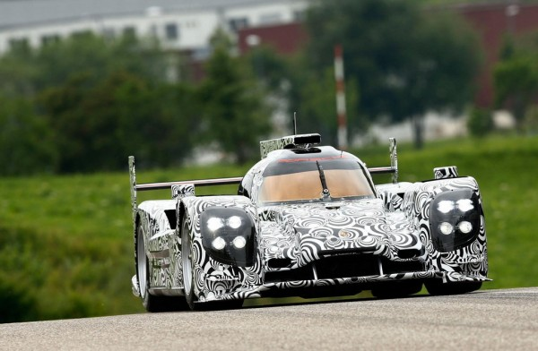 Porsche LMP1 1 600x392 at 2014 Porsche LMP1 Unveiled In Weissach