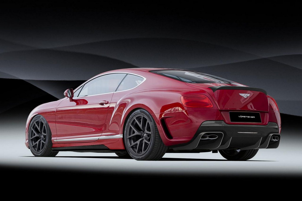 Vorsteiner Styling Kit For New Bentley Continental GT  Preview
