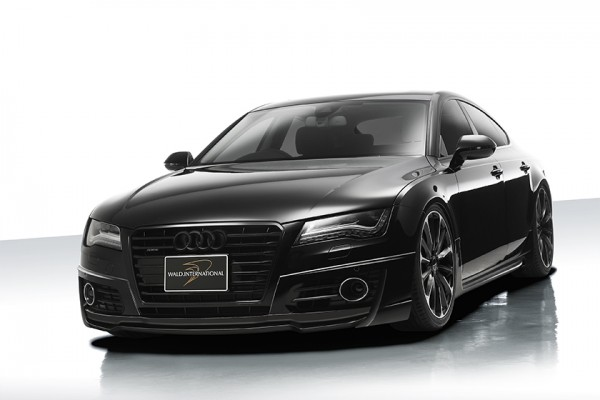 Wald International Audi A7 1 600x400 at Wald International Previews Audi A7 Kit