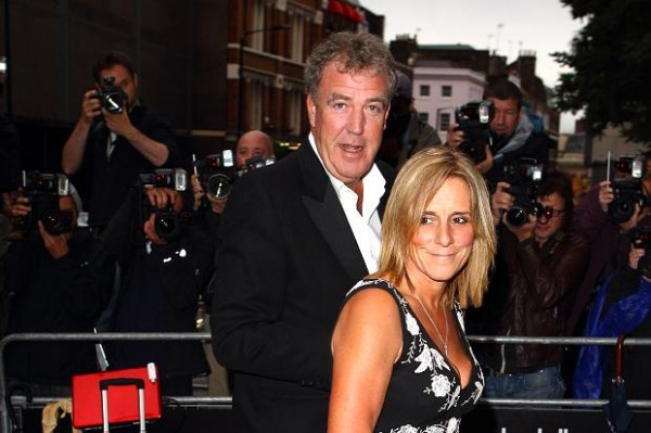 clarkson and wife 600x399 at Jeremy Clarkson   Biography